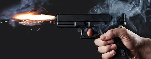 Звук выстрела из пистолета