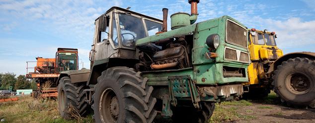 Звуки трактора