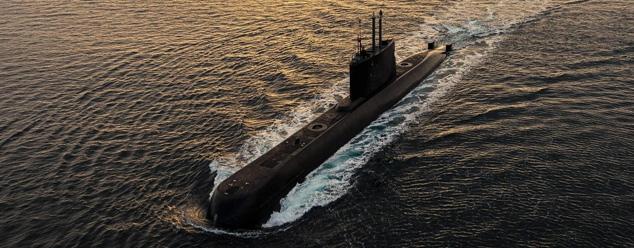 Звук подводной лодки
