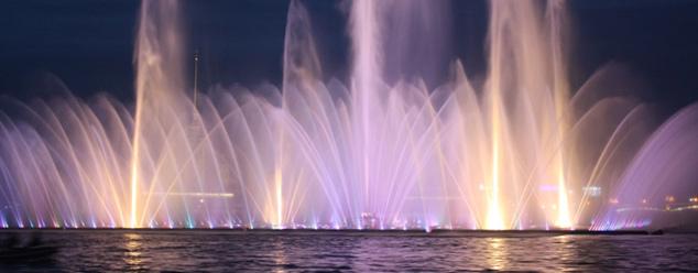 Звук фонтана