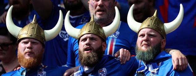 Боевой клич сборной Исландии