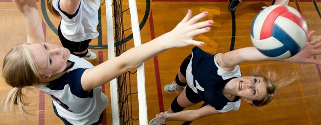 Звуки волейбола