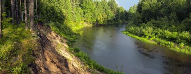 Шум реки
