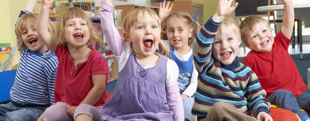 Звуки детского сада