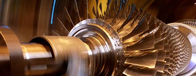 Звуки турбины