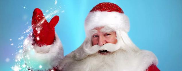 Звуки голоса Деда Мороза