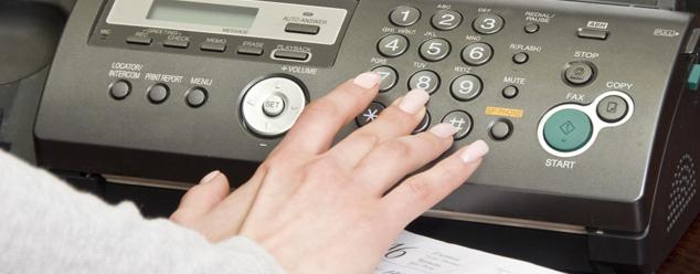 Звуки факса