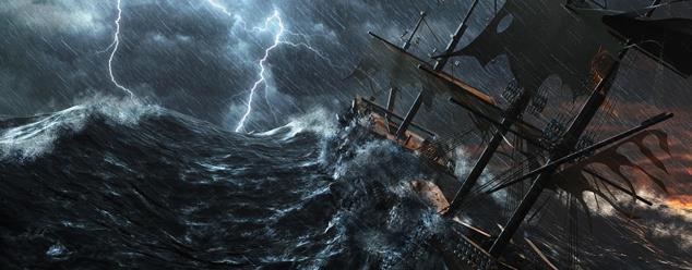 Звуки шторма