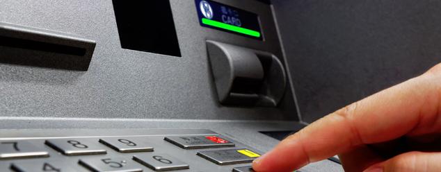 Звуки банкомата