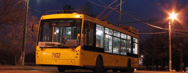 Звуки троллейбуса